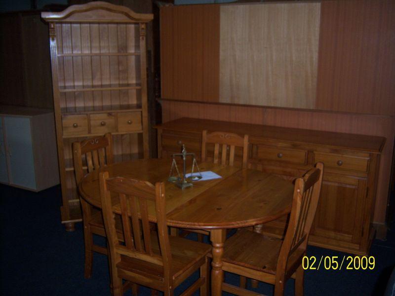 D p t vente salon d angle droit en cuir salle manger for Salle a manger massif moderne